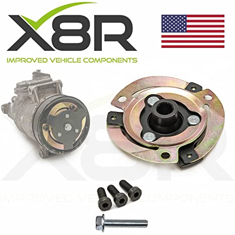 Amazon.com: VW AUDI SEAT SKODA AIR CONDITIONING COMPRESSOR CLUTCH HUB PLATE DISC REBUILD RESTORE KIT PART: X8R0082: Automotive