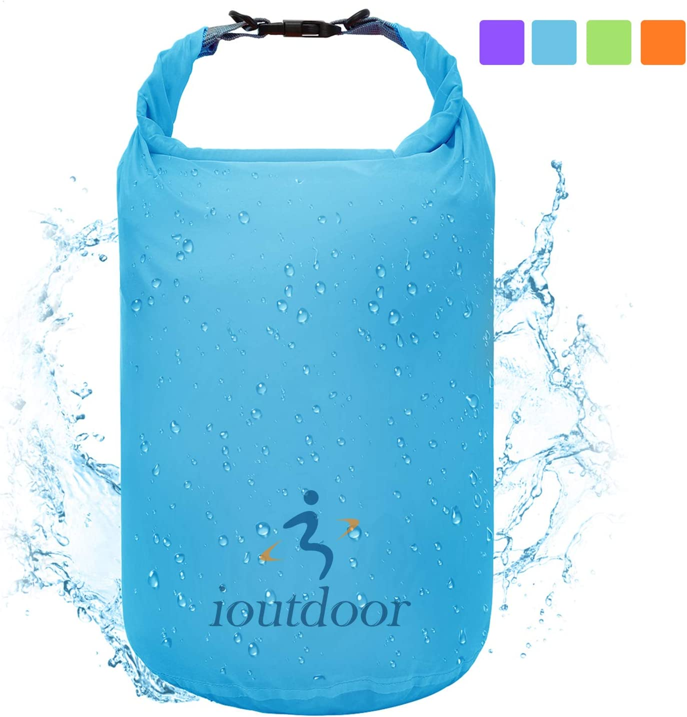 Portable Waterproof Dry Bag 8L 40L 70L Storage Pack Winter Outdoor Sport Beach