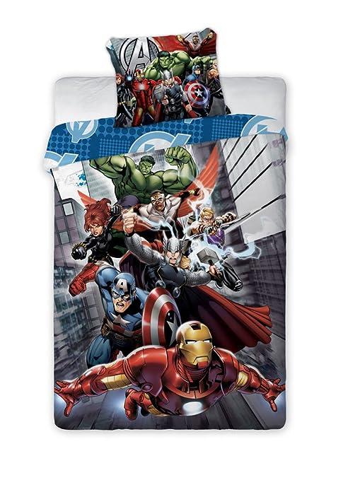 Marvel Avengers Funda Nórdica Characters 140 x 200 cm