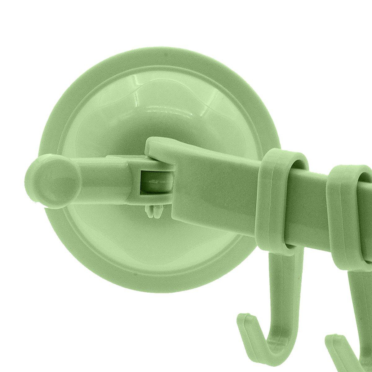 Saim Vakuum-Halterungssystem mit Saugnapf Badem/äntel und Zubeh/ör f/ür Handt/ücher 3/St/ück 3pcs beige Hakensystem f/ür Badezimmer und K/üche Wandmontage mittels Saugnapf 6/abnehmbare Haken