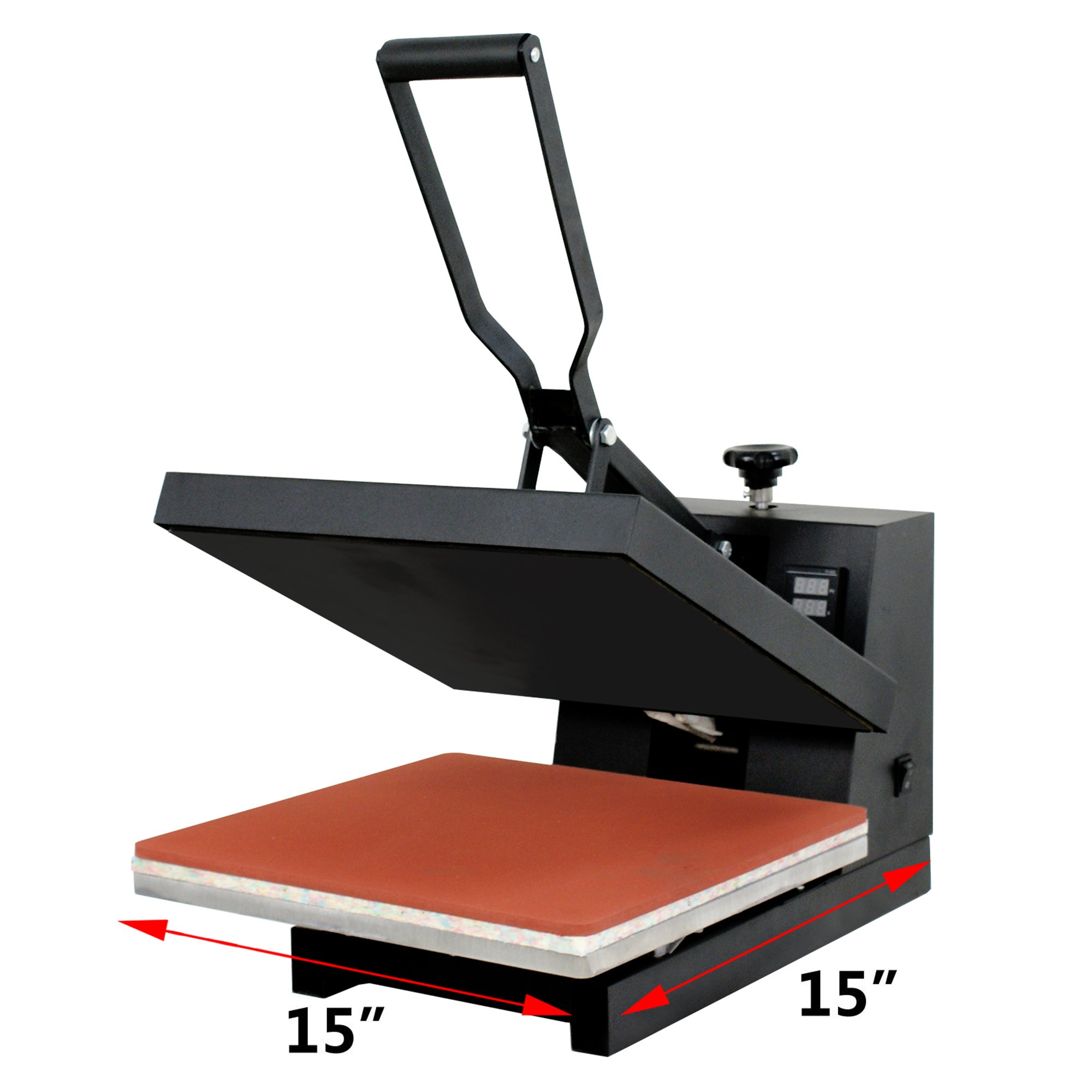 F2C 15'' X 15'' Digital Transfer Sublimation Heat Press Machine for T-shirt (1515) by F2C