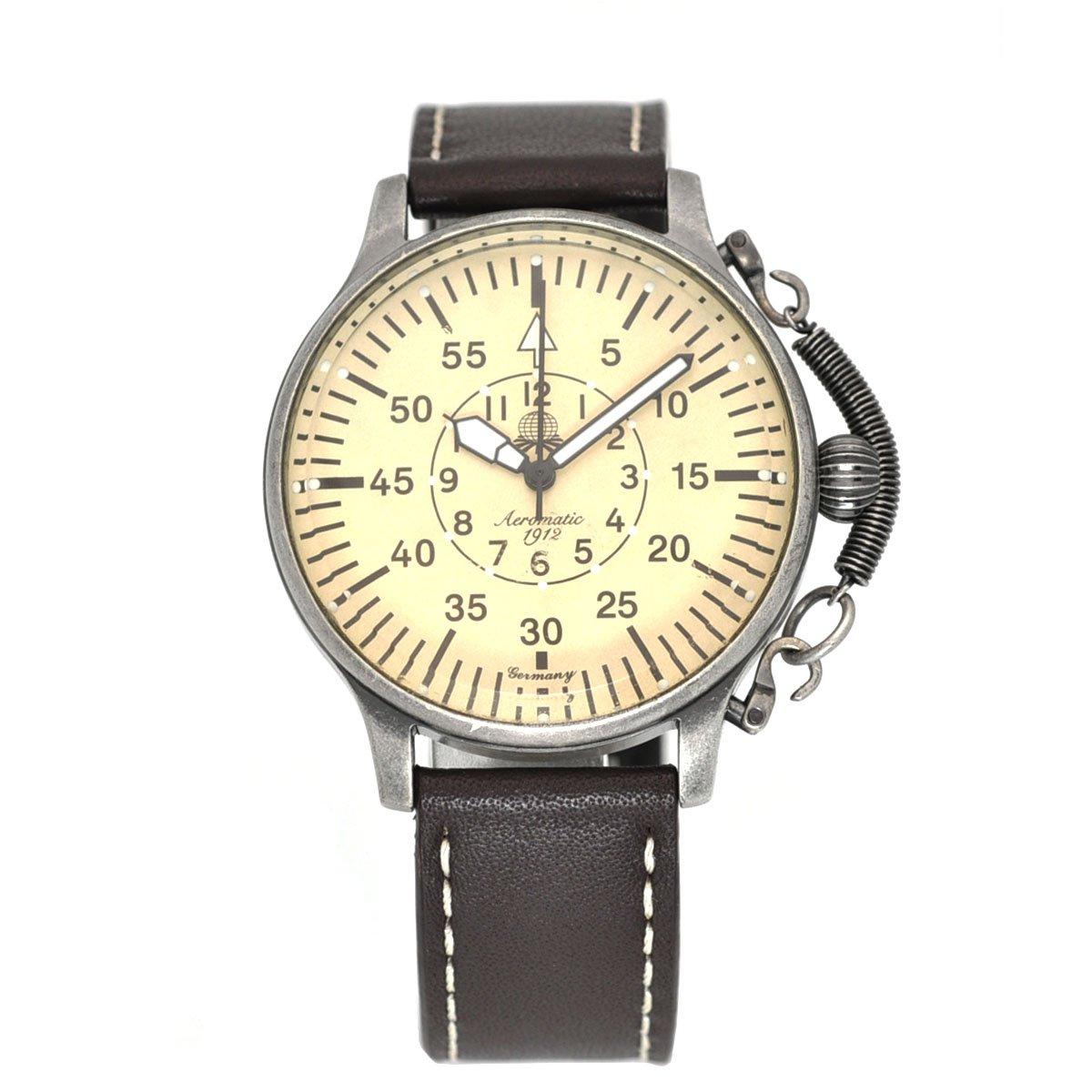 エアロマチック1912 腕時計 二戦 ドイツ 航空 偵察員 復刻 A1258 [並行輸入品] B00EEYE08G
