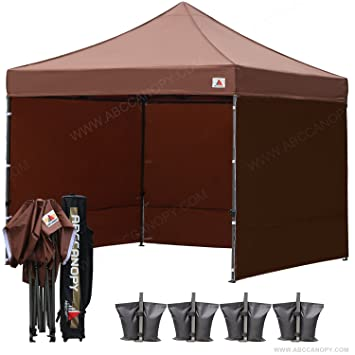 ?18+ colors?AbcCanopy 8ft by 8ft Ez Pop up Canopy Tent Commercial Instant  sc 1 st  Amazon.com & Amazon.com : ?18+ colors?AbcCanopy 8ft by 8ft Ez Pop up Canopy ...