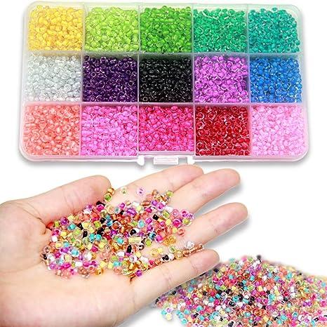 3mm Bracelet Fabrication De Cordes PerlesSans Perles Verre Ewparts Plastique Bricolage Mini BijouterieEnsemble Pour Enfants Artamp; En TFKJcl3u1