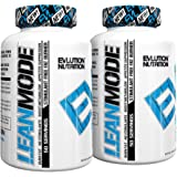 Evlution Nutrition (2 Bottles) Lean Mode Stimulant-Free, Weight Loss Supplement,(50 Serving 2 Pack) 5 Stimulant-Free Modes Of Fat Burning