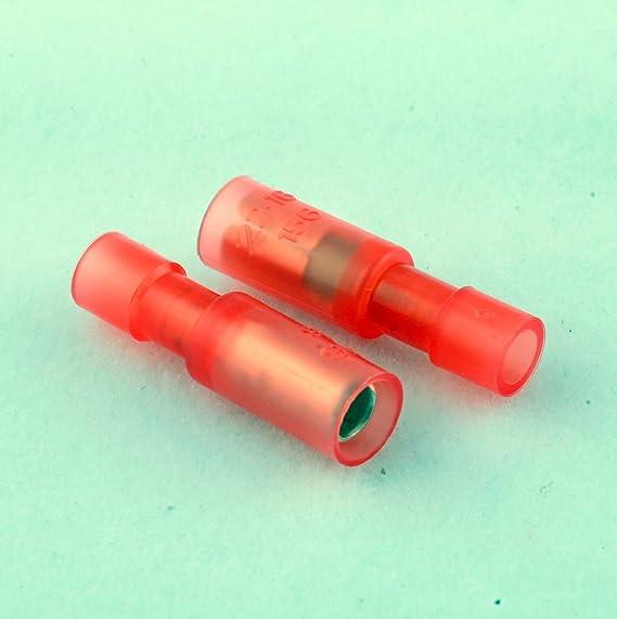 22-18 Bullet Conn Recept Bullet Connectors 50 Pack