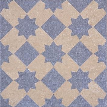 Patterned Porcelain Floor Tile Retro 01 Porcelain Tile 1 Square