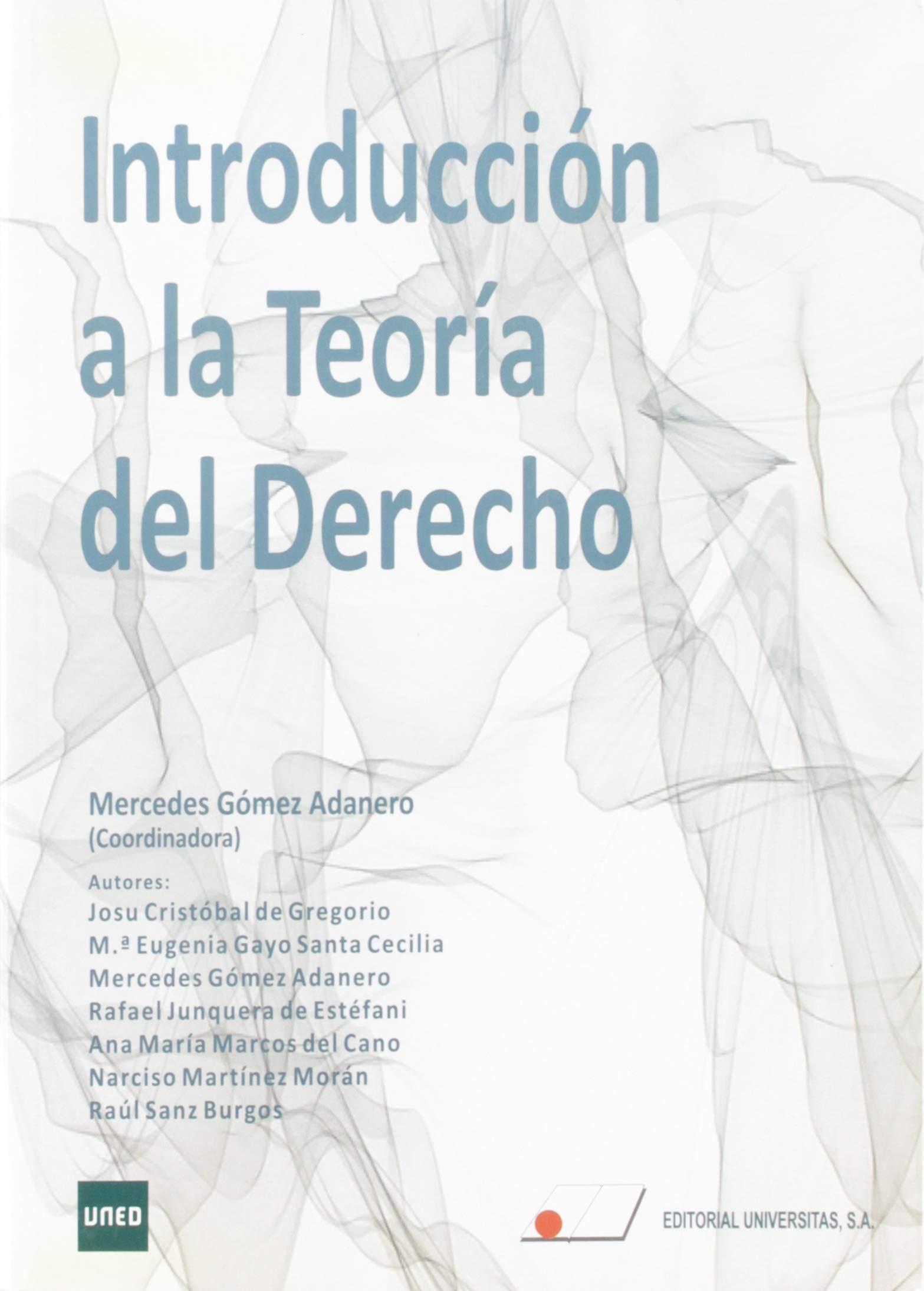 Introducción a la Teoría del Derecho del Grado de Criminología ...