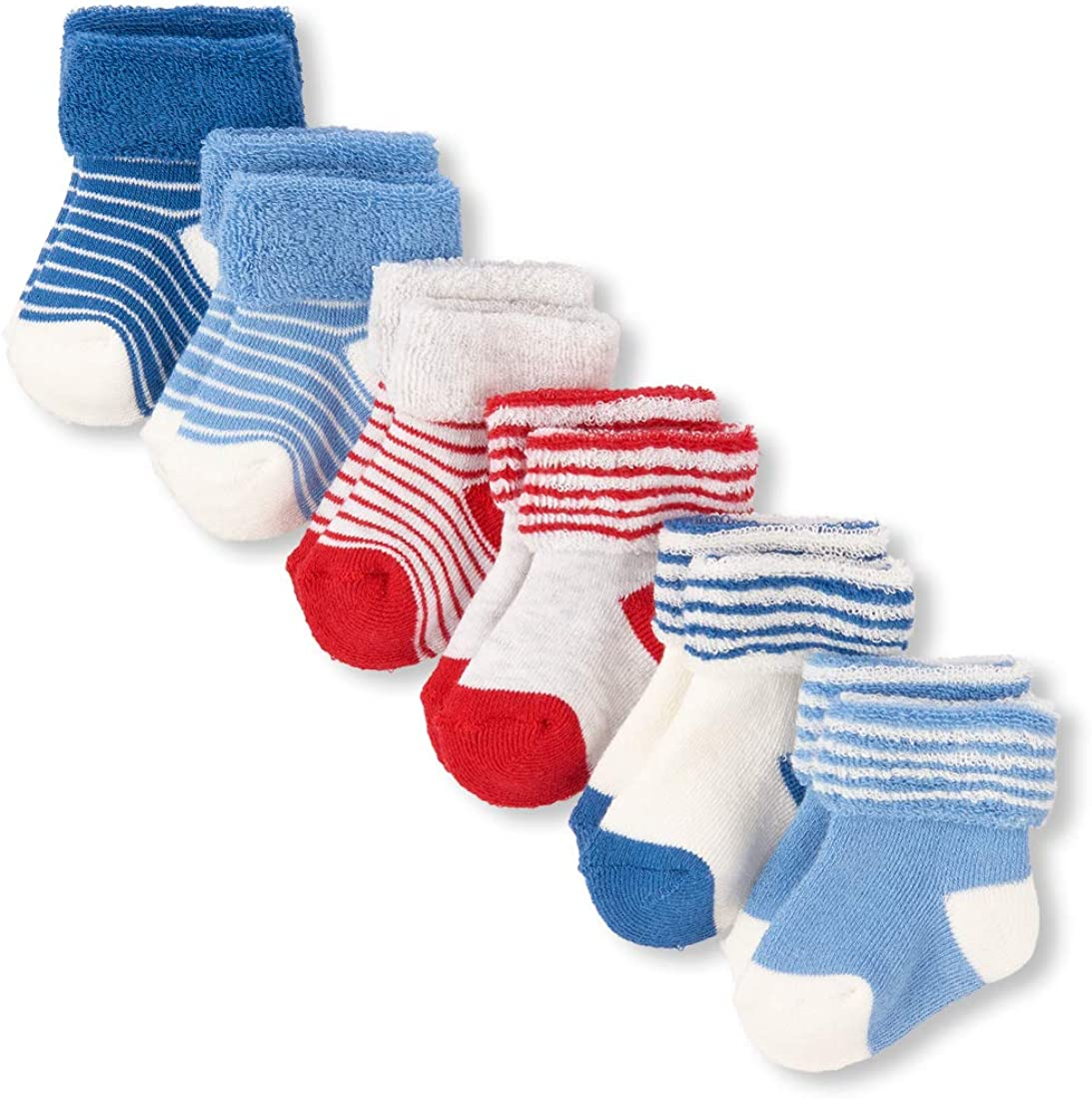 The Childrens Place Baby Girls 12 Pack Dressy Sock Bundle multi CLR