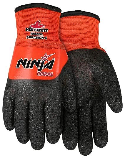 Amazon.com: MCR Safety Ninja Coral N9695 - Funda de nailon ...