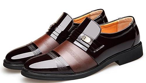 Zapatos De Charol Cuero Zapatos De Hombres Inglaterra ...