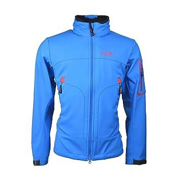 77711de0ad Jack Wolfskin Chilly Pass Softshell Men's Jacket blue electric blue Size:XXL