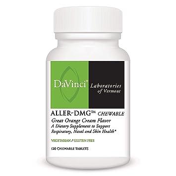 DaVinci Laboratories Aller-dmg Chewable Tablets, 120 Count