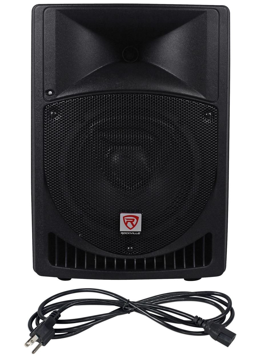 Rockville RPG8 8'' Powered Active 400 Watt 2-Way DJ PA Speaker System