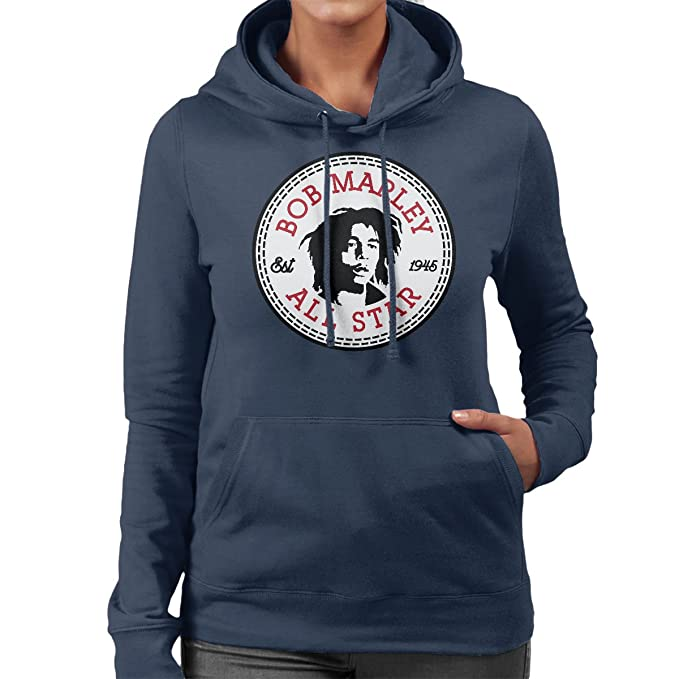 Converse Bob Marley All Star Womens Hooded Sweatshirt