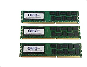 12GB (3X4GB) Memory Ram Compatible with Dell Precision Workstation T5500 Ecc Reg for Server Only by CMS C20