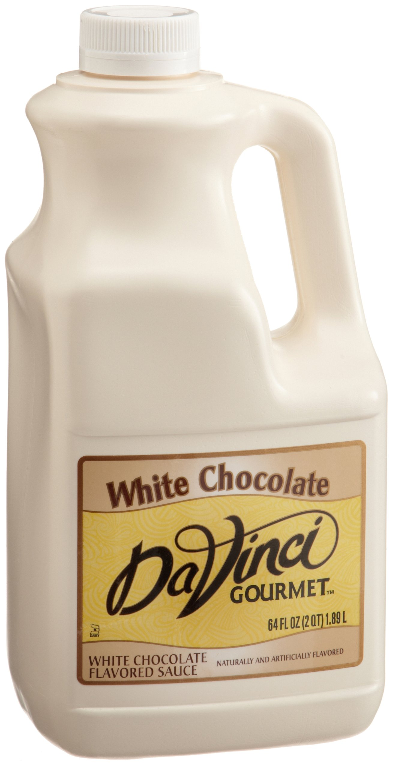 DaVinci Gourmet Sauce, White Chocolate, 64-Ounce Jugs (Pack of 6)
