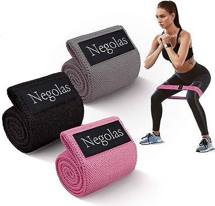 Amazon.com: Bandas de resistencia para piernas y glúteos ...