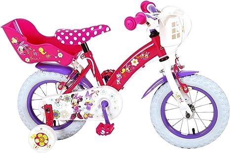Bicicleta Infantil con Licencia de Disney, Color Fucsia, 12 Pulgadas ...