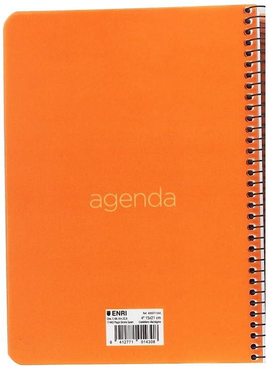 Enri 400071544 - Agenda: Amazon.es: Oficina y papelería