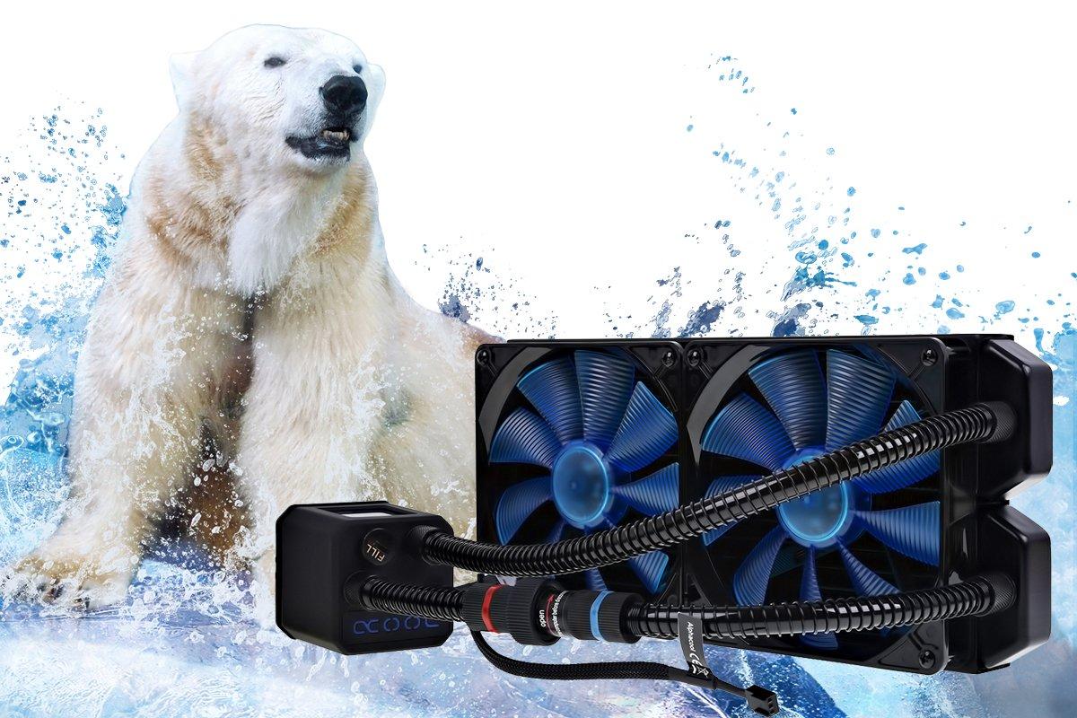 AlphaCool Eisbaer 280 CPU Amazon