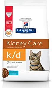 HILL'S PRESCRIPTION DIET Dry Cat Food, Veterinary Diet, k/d Kidney Care