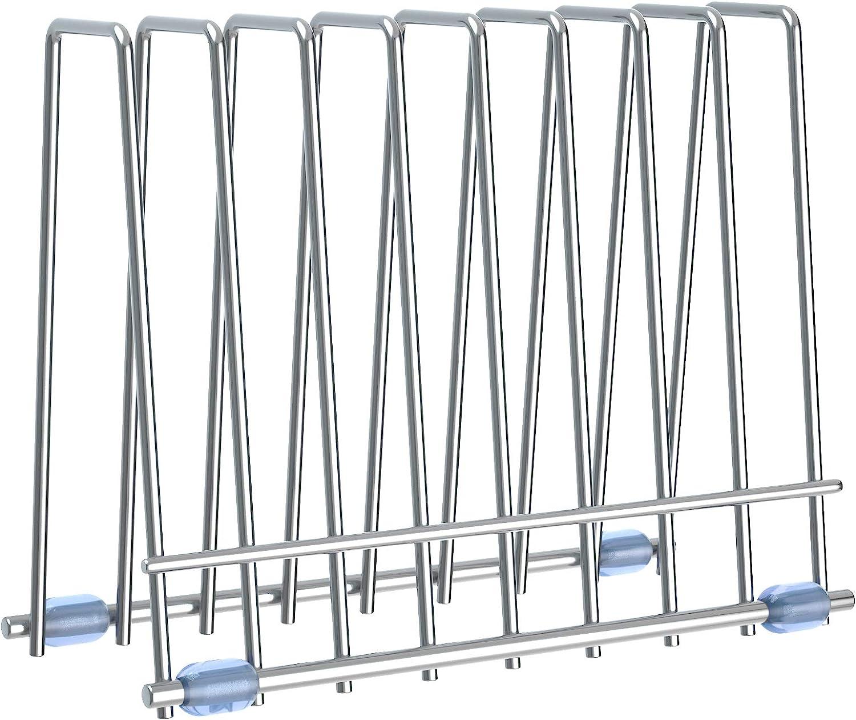 Reusable Storage Bags Rack, Drying Rack for Storage Bags, Stainless Stand for Reusable Storage Bags, File Organizer Desktop Storage Book Shelf