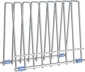 Reusable Storage Bags Drying Rack Kitchen, Stainless Steel Holder for Makeup Brush & Books, Bag Drying Drainer Stand for Reusable Freezer Bag Bags, Food Bags