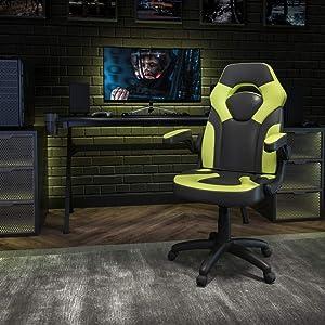 KaiMeng Office High Back Leather Chair