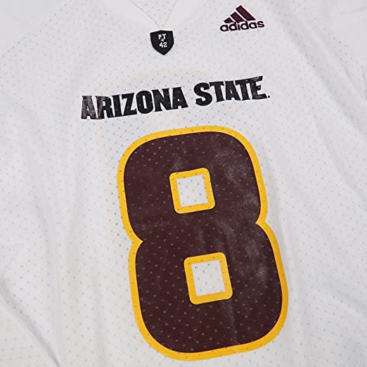029dec05f9fa0 Amazon.com : Arizona State Sun Devils NCAA Adidas White Official ...