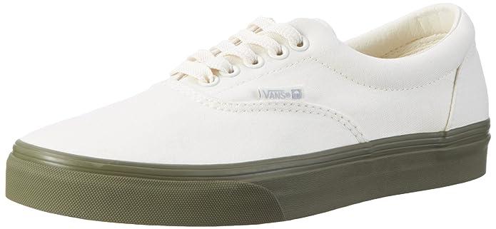 Vans Era Unisex-Erwachsene Low-Top Sneakers Beige ((Vansguard) Classic White/Ivy Green)