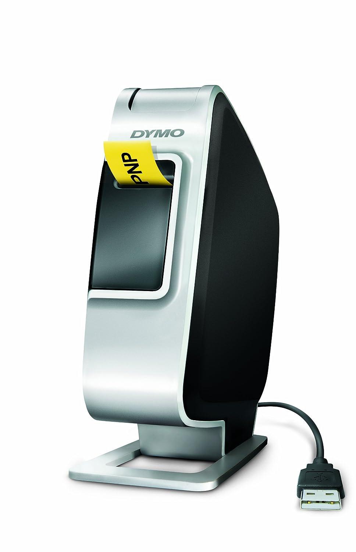 Dymo LabelManager 420P kompaktes tragbares Beschriftungsgerä t vierzeiliges Display ABC 10 Schriftarten 7 Schriftgrö ß en D1 S0915490
