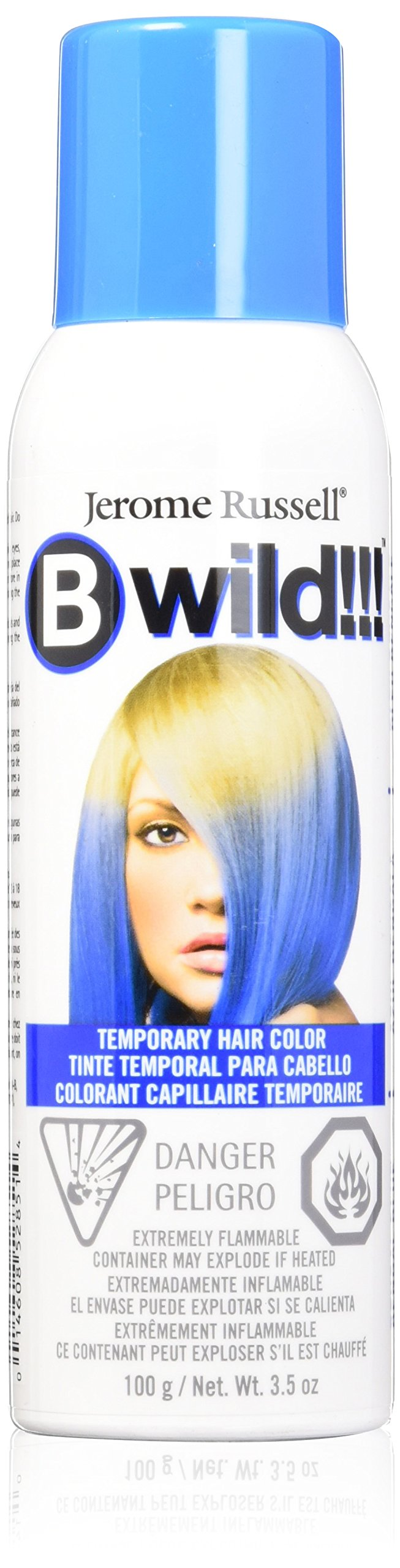 jerome russell B Wild Color Spray, Bengal Blue, 3.5 Ounce