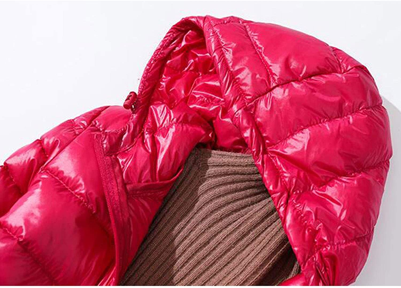 Goods-Store-uk - Cappotto Invernale Lungo con Cappuccio, Stile Vintage, Colore: Nero Rhodo.