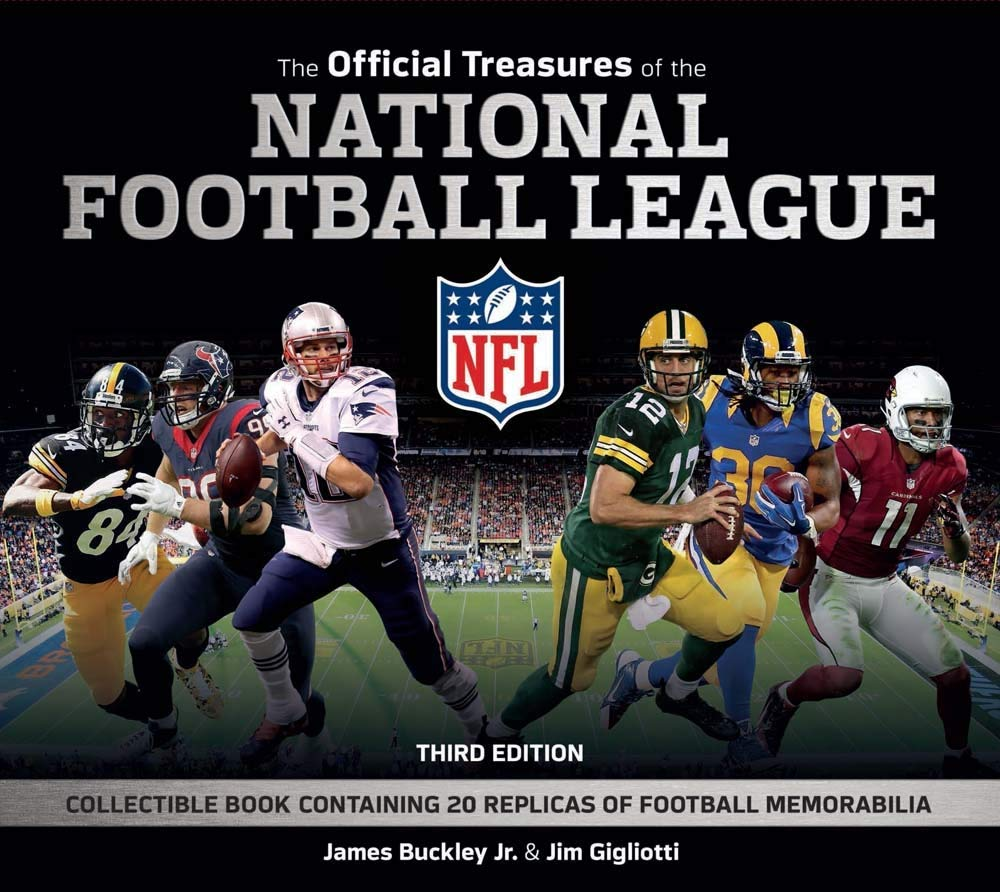 Buy The Official Treasures of the National Football League: Collectible  Book Containing 20 Replicas of Football Memorabilia Book Online at Low  Prices in India   The Official Treasures of the National Football