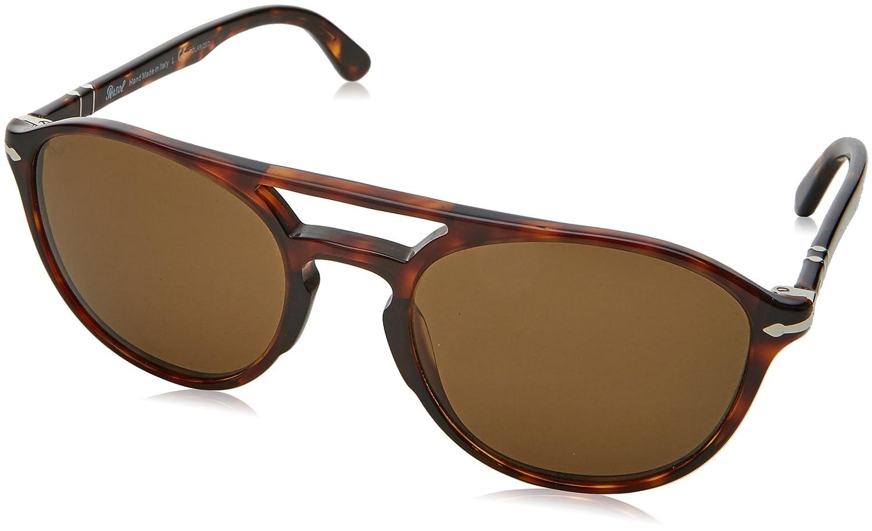 878c05230 Persol Sunglasses For Men, Brown PO3170S 90155755 55 mm: Amazon.ae