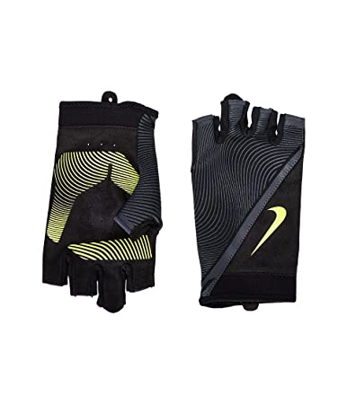 Nike Men's Havoc Training Gloves, XL,(Black/Anthracite.Volt)