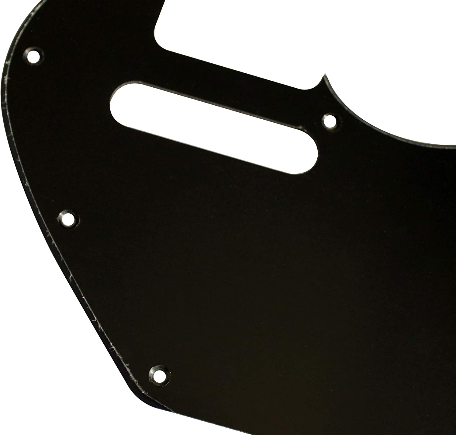 For Merle Haggard F Hole Telecaster Style Guitar Pickguard Scratch Plate 1 Ply Black