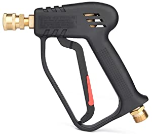 "McKillans Pressure Washer Gun Replacement M22 Inlet Compatible with Snow Foam Cannons Equipped with 1/4"" Quick Connector Coupler"
