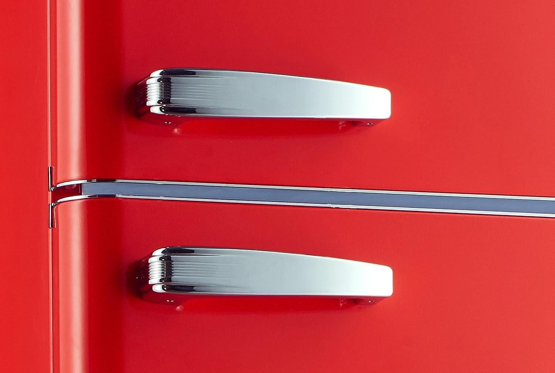 Retro Kühlschrank Rot Kaufen : Retro kÜhlschrank alaskaline a kg166 40 rot: amazon.de: elektro
