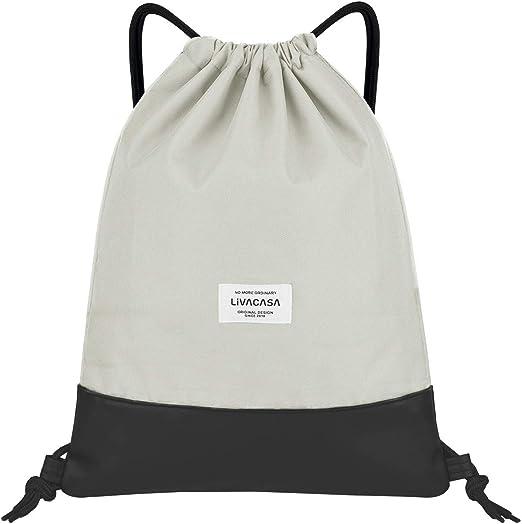 UNISE The Bear Leaves Pedestrian 3D Rendering Gym Drawstring Bags Sackpack Sports Backpack with Water Bottle Mesh Pockets for Men Women Girls