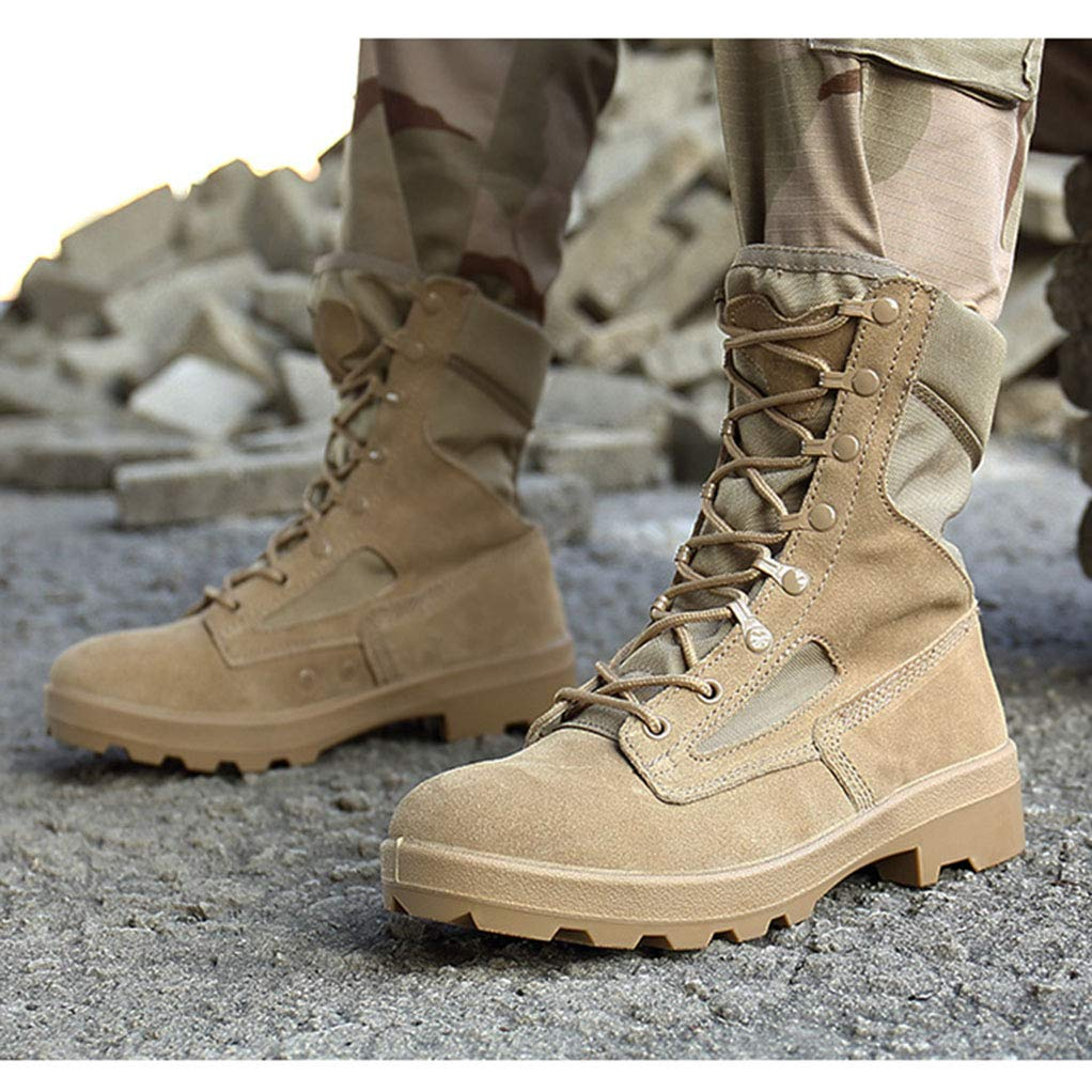 Mens Hiking Boots Outdoor Hiking Shoes Non-Slip Mountain Trekking Boots
