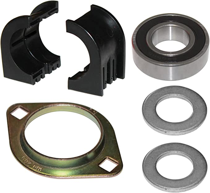 CALTRIC FRONT A-ARM LONG BUSHINGS Fits POLARIS SPORTSMAN 500 4X4 1996-2002 w//Spacers