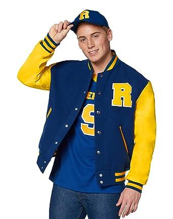 Amazon.com  Spirit Halloween Riverdale Varsity Jacket - Archie Comics   Clothing 8f436b154