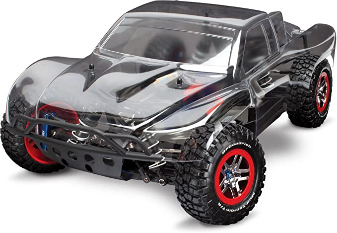 Amazon Com Traxxas 1 10 Slash 4x4 Brushless Short Course Truck Platinum Edition Toys Games