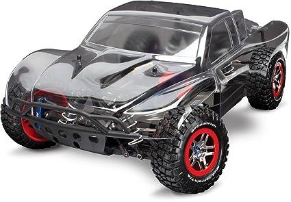 Amazon Traxxas 1 10 Slash 4X4 Brushless Short Course Truck Platinum Edition Toys Games
