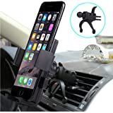 Car Mount, Bosuge Univeral Cell Phone Car Phone Mount Holder Cradle for iPhone 8/7/6S/6/5S/7 Plus, Samsung Galaxy S8 S7 Edge S6 S5 Note 5/4,Nexus,HTC,LG,Sony More Smartphone&GPS
