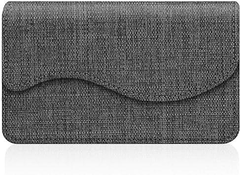 Kreditkartenetui Visitenkartenetui Fintie Premium Kunstleder Handgefertigte Kartenetui Organisator Halter Taschen Mit Magnetverschluss Denim