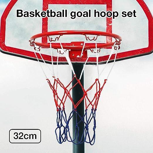 Allowevt Mini aro de baloncesto Montado en la pared Colgante de ...