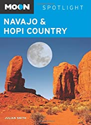 Moon Spotlight Navajo and Hopi Country
